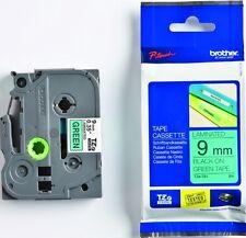 Brother P-touch Beschriftungsbänder TC-991 9 mm schwarz auf silber