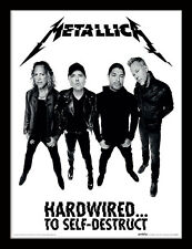 Metallica Hardwired Band - Framed 30 x 40 Official Print