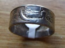 .900 SILVER WALKING LIBERTY 1935-1945 COIN RING, MADE to ORDER Sizes 7 to 15!