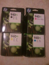 Genuine HP 940 XL Full Set Officejet Pro 8000 8500 Ink Cartridges FREE FAST POST