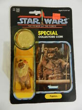 VINTAGE 1984 KENNER- STAR WARS PAPLOO EWOK  ACTION FIGURE-NOC- VINTAGE STAR WARS