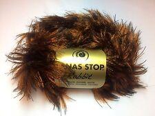 10 Stü. Lanas Stop RABBIT Farbe* 709 Luxuswolle 10*50 Gra Wolle Effektgarn