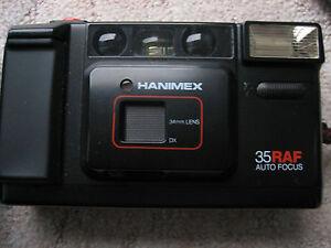 analoge Kamera Fotoapparat  Hanimex 35 RAF Auto Focus
