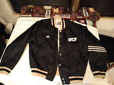UCF Knights adidas Women's nylon bomber button up team issued Jacket Size Medium