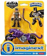 Imaginext DC Super Friends, Streets of Gotham, Catwoman and Cycle