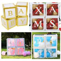 Transparent Box Storage Balloons Wedding Baby Shower 1st Birthday Party Decor