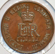 Canada 1953 Token Elizabeth II Coronation 195267 combine shipping