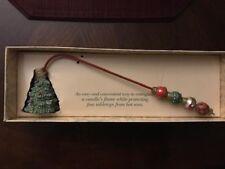 "Boston Warehouse 11"" Santa Christmas Tree CANDLE SNUFFER"