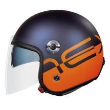 Casques oranges scooter pour véhicule