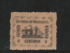 "Venezuela: 1903; Local ""Maturín"", probably forgery, double impression. VE1534"