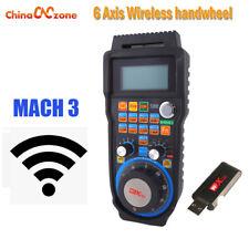 WHB04B-6 6 Axis Wireless CNC Handwheel Mach3 MPG Pendant Machine Lathe Control