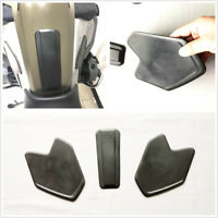 3 Pcs Black PU Motorcycle Accessories Side Tank Pads For BMW R1200 GS Adventure