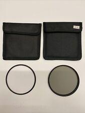 SRB Photographic 105mm Circular Polariser Filter and 105mm UV Filter