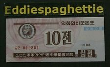 Korea North 10 Chon 1988 UNC P-25