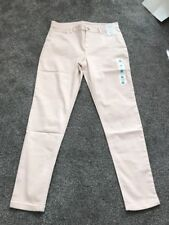 M&S Light Pink Super soft Skinny Jeggings  Size 14 Reg BNWT Free Sameday P&p
