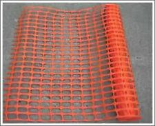 Medium Duty Barrier Fencing Safety Netting 1 x 50 mtr Roll Orange