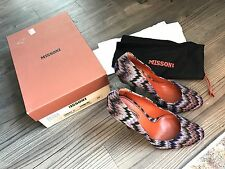 MISSONI Shoes Round Toe Dress Pump Purple Heels Size 39 RUNS SMALL