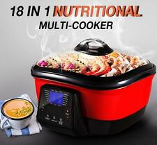 Maxkon 18-in-1 Multi-Function Master Cooker Slow Cook, Steam, Roast, Grill Brais