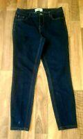 New Look Women,s jeans  Dark blue skinny stretch. Size 10 L 30