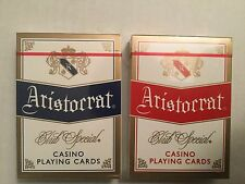 Aristocrat - RARE Classic - Generic Casino VERSION- Playing Cards  -dan and dave