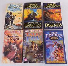 Lot Of 6-Harry Turtledove Paperbacks-Jaws Of Darkness-Hammer & Anvil-Fantasy
