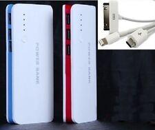 3usb 50000mah POWER BANK carica BATTERIA ESTERNA UNIVERSALE SMARTPHONE portatile