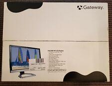 "Gateway FHD2400 24"" 1080p 74Hz 3ms LCD Widescreen HD Monitor 1920x1200 HDMI etc"