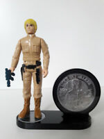 "1 x Vintage Star Wars Figure & Coin Holder - 1"" stand (DISPLAY STAND ONLY)"