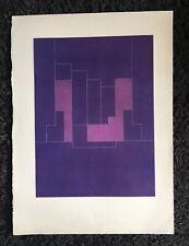 "ROBYN DENNY 1930-2014 Large Limited Edition ETCHING ""Graffiti"" 1977"