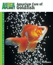 Aquarium Care of Goldfish Book~Food~Health~Types of Aquariums~Water Regimen~NEW