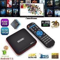 MECOOL M8S PRO W 2GB/16GB S905W TV BOX Android 7.1 Quad Core HDR10 WiFi 4K Media