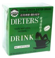 Dieters' Drink 30 tea bags 100% Natural Herbal No Caffeine For Women & Men