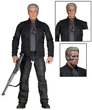"Terminator Genisys Series 2 7"" Scale Action Figure- Guardian ""Pops"" T-800 - NECA"