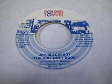 Soul Unplayed NM! 45 JAY BLACKFOOT The Girl Next Door on Sound Town