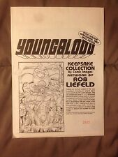 YOUNGBLOOD KEEPSAKE COLLECTION BY ROB LIEFELD-LIMITED EDITION #2835/ 5000