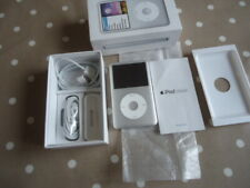 BOXED iPOD CLASSIC SILVER 160GB SILVER FULL WORKING ORDER MP3 PLAYER  MC293QB/A