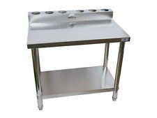 NEW stainless steel stand / bench for portable LPG gas cookers and wok burners