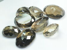 326.60 CT NATURAL SMOKY QUARTZ AFRICA GEMSTONE WHOLESALE LOT 8 PCS. FOR PENDANT