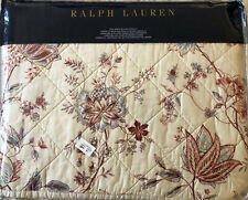 Ralph Lauren Queen Full Quilted Coverlet New Bedding Msrp $430
