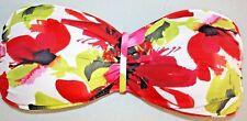 """Tommy Bahama"" Bikini Top~Tie Back~White/Multi~Floral~M~NWT"