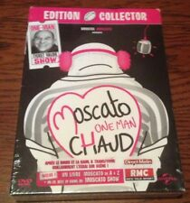 - DVD - Vincent Moscato - One Man Chaud - Édition Collector dvd+livre NEUF