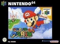 N64 / Nintendo 64 Spiel - Super Mario 64 mit OVP