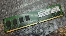 2GB Crucial ct25664aa667.m16fh pc2-5300u 667MHz DDR2 NON - ECC COMPUTER MEMORIA