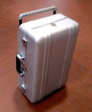 Trolley HALLIBURTON rigido color silver chiusura con combinazione 22x55x34 cm