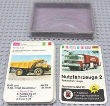 F.X. Schmid ® cuarteto vehículos industriales 60/70er nr 53622 completo