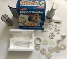 Cookie Press Super Shooter Hamilton Beach Cordless Food Decorator As Seen On TV