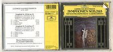Cd CLAUDIO ABBADO Ludwig Van Beethoven Symphonien N. 2 & 5 Deutsche Symphony