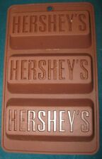 New listing Hershey'S 3 Cup Brownie Silicone Loaf Pan Mold