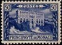 "MONACO STAMP TIMBRE N° 58 "" MUSEE OCEANOGRAPHIQUE 50 C BLEU "" NEUF xx LUXE"