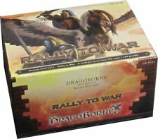 DragoBorne Rally to War Booster Box DB BT01 English Factory Sealed